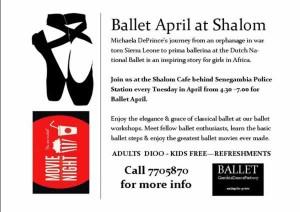 Ballet Film Festival In Africa